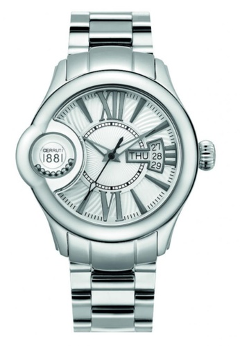 CERRUTI 1881 silver All Stainless Steel Men Watch CE514AC93QMKMY_1