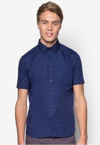基本款棉質短袖襯衫, 服飾,esprit outlet 香港 服飾