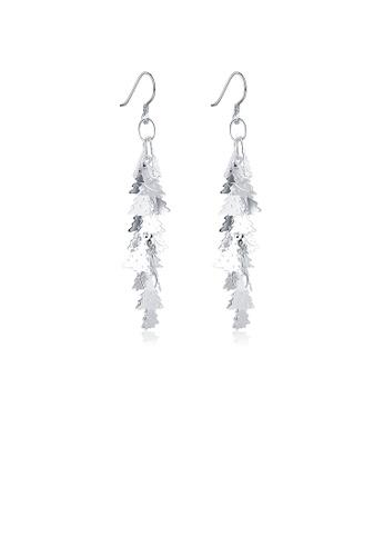 Glamorousky silver Fashion Christmas Tree Tassel Earrings 18EAEACE638A3BGS_1
