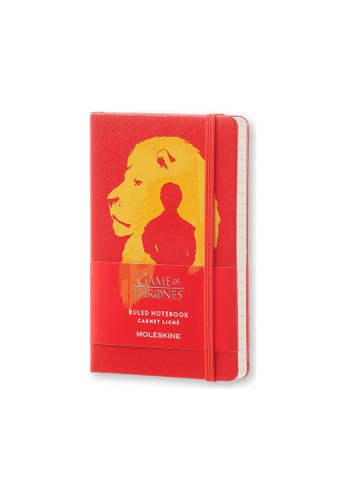 Moleskine red Limited Edition Notebook Game of Thrones Pocket Ruled MO083AC25ZQWPH_1