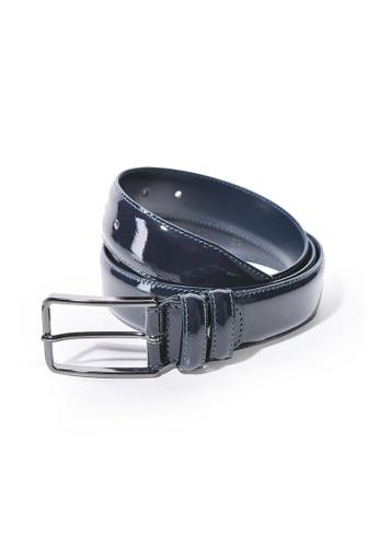 Charles Berkeley blue Charles Berkeley Men's Belt Genuine Leather -2218 0B3C4ACD402BC6GS_1