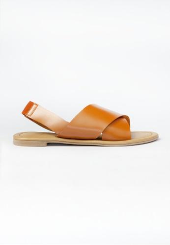 HDY brown HDY Stella Flats Sandals HD484SH75VYAPH_1