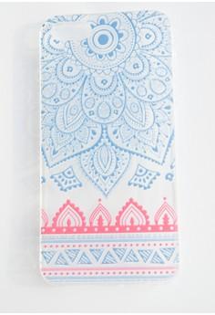 Multicolored Sundala Soft Transparent Case for iPhone 5/5s/SE