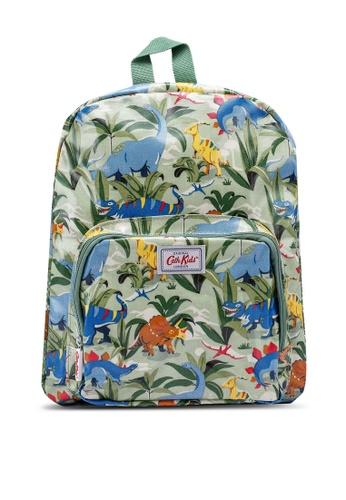 Cath Kidston green Dinosaur Jungle Kids Large Backpack 4CA4BKCF52DAD5GS_1