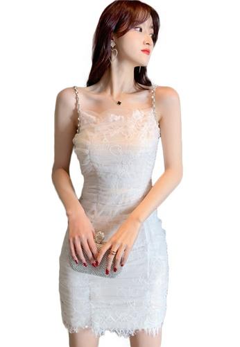 Sunnydaysweety white Sexy Lace Sling One Piece Dress A21022230W AF85FAAEAC8591GS_1