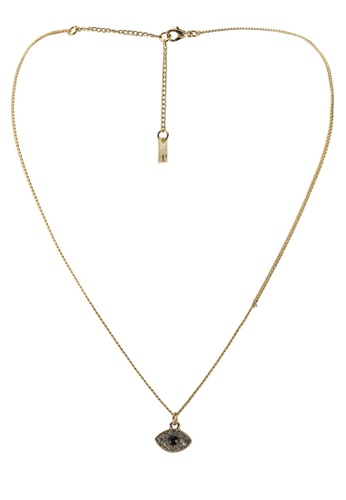 Rubi gold Premium Pendant Necklace FABEFAC4F54414GS_1