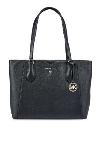 MICHAEL KORS black Mae M Tote Bag (zt) 37800ACC54B66CGS_1