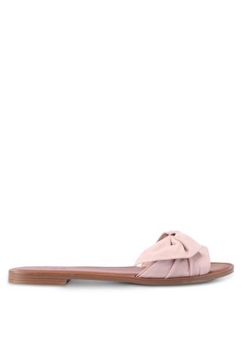 ALDO beige Enroelia Flat Sandals ECA9ASH62655AAGS_1