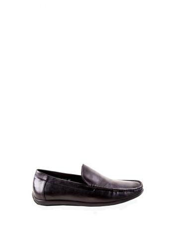 Otto black Slip-On Loafers OT407SH0JRVTPH_1