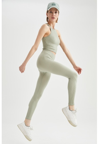 DeFacto green Woman Knitted Trouser 41CEAAA0FD21F2GS_1
