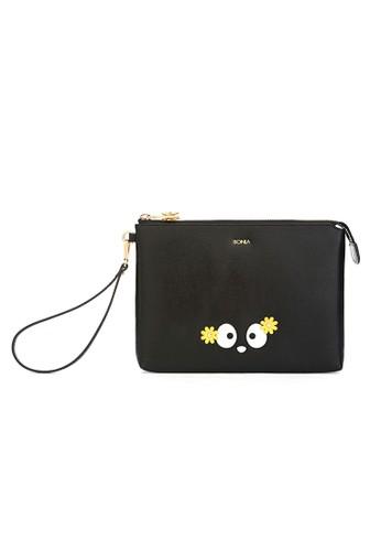 BONIA black Qiqi the Penguin Mini iPad Case BO710AC89IMSID_1