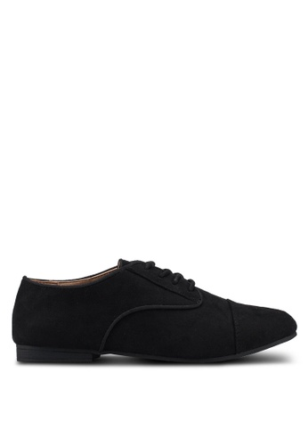 Call It Spring black Balinia Lace Ups Oxfords 0127CSH6285693GS_1