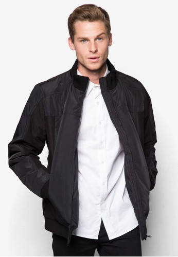 簡約拼接羽絨外套, 服esprit 羽絨外套飾, 外套