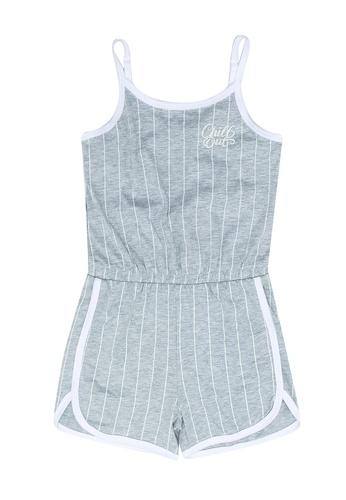 FOX Kids & Baby grey Jersey Playsuit 32C4EKAAE15409GS_1