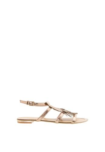 SEMBONIA SEMBONIA Synthetic Leather Flat Sandal (Bronze) 5E5A5SHBFF5009GS_1