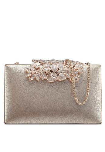 9fa988fb19 Forever New gold Charlotte Clutch Bag 0E363ACA7708DEGS 1