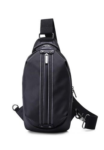 VERNYX black VERNYX - Men's Sling Bag Tas Selempang Dada Bahu Pria Deviance 57E4BAC7E316EFGS_1