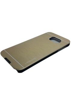 Sleek Metal Case for Samsung Galaxy S6 (Gold)