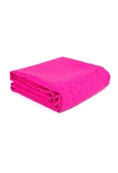 Skidless Microfibre Yoga Towel Flower Skids