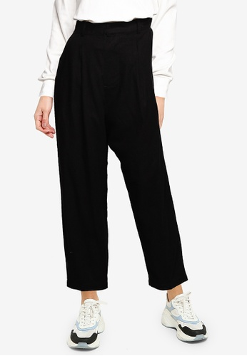 niko and ... black High Waisted Trousers 83B31AAE562253GS_1