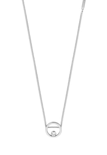 Esprit silver ESPRIT [Mini] Silver Sterling Silver Necklace (40 cm + 3 cm extension) A6D5EAC466AB62GS_1