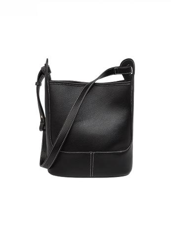 Twenty Eight Shoes black Fashionable Chic Faux Leather Bucket Bag JW FB-6788 4FF3AACA4319F9GS_1