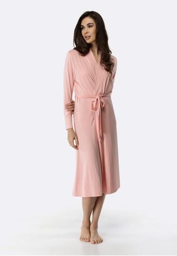 Deshabille pink Wanderlust Robe 09C6DAA4D5B7F1GS_1