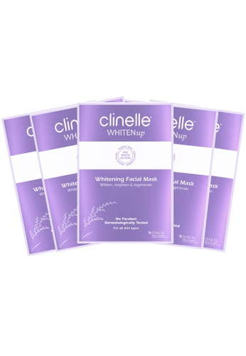 Clinelle Whitening: Clinelle [Official] WHITENup Whitening Facial Mask - 5 sheets CL708BE27RIUMY_1