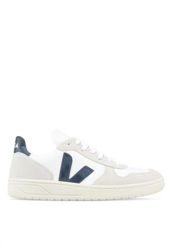 Veja white V-10 B-Mesh Sneakers 15ADBSH6341C12GS_1