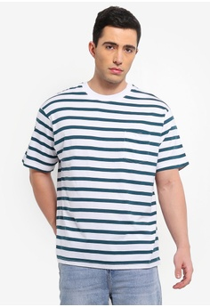 ba873d180 Buy Men s Striped T-Shirts