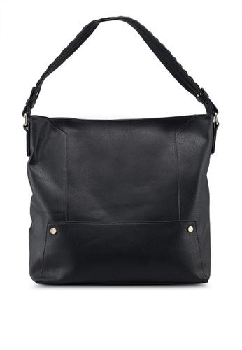bed9405fbf39 Buy Dorothy Perkins Black Scallop Strap Hobo Bag Online on ZALORA ...