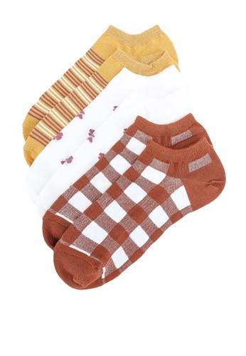 GAP 多色 3-Pack Ankle 襪子 B2B20AAE7EB756GS_1