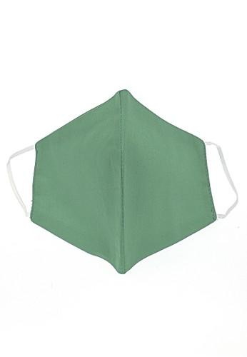 Hamlin multi Vente Masker Earloop Washable Non Medis Waterproof Anti Bakteri Material Cotton ORIGINAL - Green Tea 281FCES9D9E7B7GS_1