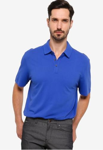 BOSS blue Press 13 Polo Shirt 0B049AA655834DGS_1