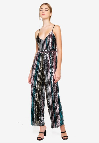 7f609d99013 Buy Miss Selfridge Petite Mini Me Rainbow Jumpsuit Online on ZALORA ...
