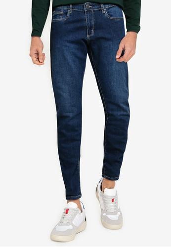 OVS blue Skinny-Fit Jeans 2F9C5AA797E2DFGS_1