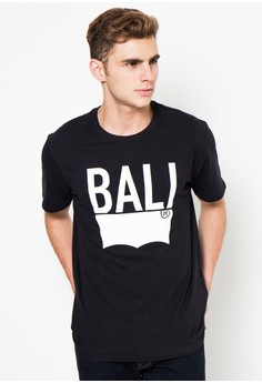 harga Levi's Destination Tee Bali - Black Zalora.co.id