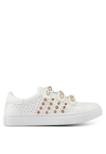 Bata 白色 Pearl Sneakers E86A1SHE690256GS_1