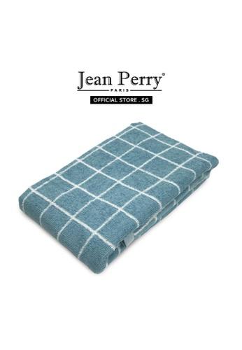 Jean Perry Jean Perry Kartell 100% Cotton Bath Towel - Stellar Blue 80A4DHL5A7249DGS_1