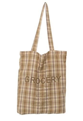 Sunnydaysweety brown Urban Simple Thin Cotton Shoulder Bag Ca21051305BW 5B335AC67F686EGS_1