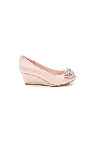 Elisa Litz pink Anita Wedges (Pink) 32818SH5CE2DCCGS_1