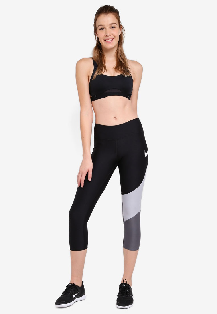 Sports Infinity White Black As Medium Nike Support Nike Black Bra EXHqnn