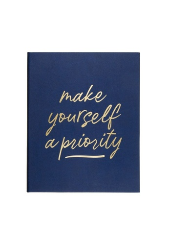 Klosh Journal - Desk Sized Eccolo - Navy Make Yourself A Priority 82759HL7C83B9AGS_1