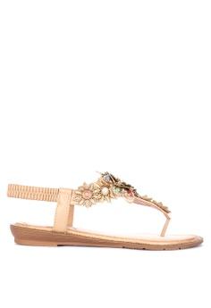 55dc6ce0e35c Shop Figliarina Flat Sandals for Women Online on ZALORA Philippines