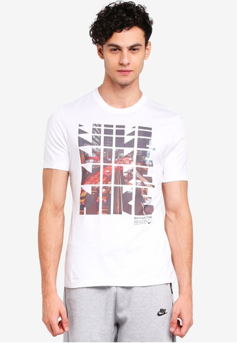 Nike white As M Nsw Tee Table Hbr 29 4ED07AA85AD5F2GS_1