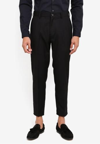 SPARROW GREEN 黑色 修身西裝褲 E951EAA815010EGS_1