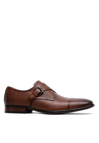 Twenty Eight Shoes 真皮英式孟克鞋8912-11 51D13SH3D41B2CGS_1