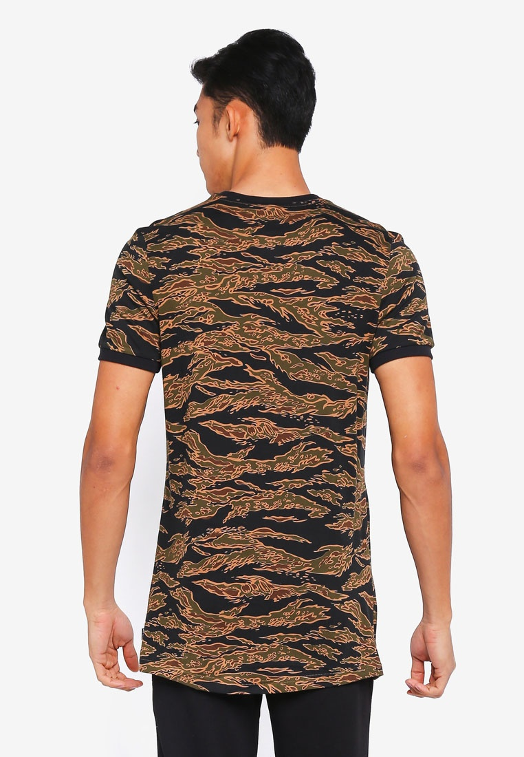 adidas Print aop Black Camo adidas originals camo tee Collegiate Orange xRYUqrRw