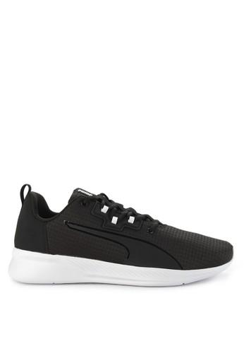 Puma black Tishatsu Runner Shoes A39A9SHED5BFCCGS_1
