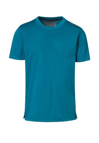 Porsche Design PUMA x Porsche Design Blue Men's Essential Tee Sport T-Shirt for Men Moroccan Blue BD78CAAEF26004GS_1